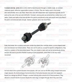 Geely emgrand x7emgrarandx7ex7suv car drive shaft constant velocity joints allow a drive shaft to transmit power through a variable angle sciox Image collections