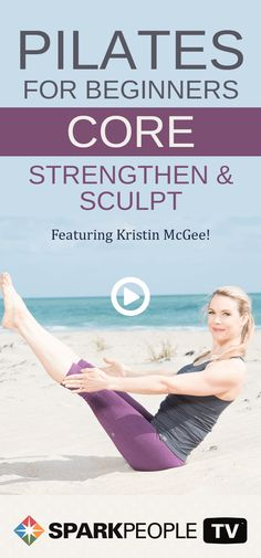 Join Kristin McGee as she introduces you to the benefits of Pilates to help transform your core strength, flexibility, alignment and sculpt. This abs routine features some of the classic Pilates core toning cycles.