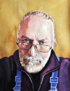 Selbstportrait v. G. Stadler, Mudau/Schloßau, Buchen/ Odenwald