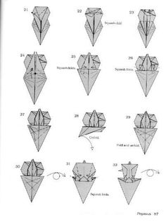 origami fiery dragon instructions