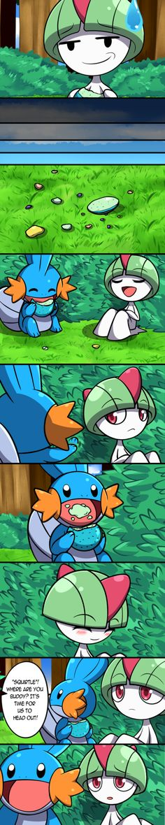 """I said it before and I'll said it again. YES, for the record I undeniably, officially , stupidly,AND I KID YOU NOT,named my Mudkip,""""SQUIRTLE""""note:In the ti..."""