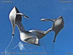 ART 649 vitello bianco perlato e capretto argento