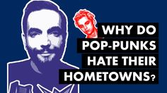 Why Do Pop-Punks Hate Their Hometowns? [Video Essay] {non-music video} Punk Songs, Pop Punk Bands, Affiliate Partner, Born To Run, Bruce Springsteen, Music Videos, Hate, Writer, Thoughts
