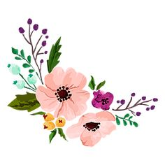 of applique patterns for your craft project from dolls to clever sayings. Many Primitive patterns for all ability levels. Watercolor Cards, Watercolor Flowers, Watercolor Paintings, Flower Background Wallpaper, Flower Backgrounds, Floral Illustrations, Illustration Art, Primitive Patterns, Primitive Stitchery