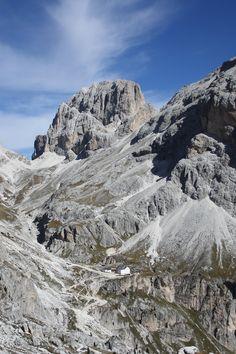Ein mal rund um die Vajolettürme in den Dolomiten.