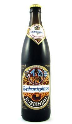 Weihenstephaner's Korbinian Bock beer from Germany Non Alcoholic Drinks, Fun Drinks, Bottle Labels, Beer Bottle, Whiskey Tour, Malt Beer, Premium Beer, Beers Of The World, German Beer