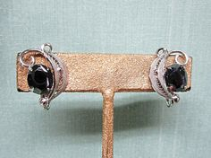 Sorrento Sterling Silver and Hematite Filigree Clip by COBAYLEY