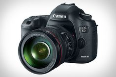 I'm a Nikon fan, and I still want one of these. Canon EOS 5D Mark III ($3,500). At its heart lies an all-new 22.3-megapixel full-frame sensor that delivers stellar images up to ISO 102,400, and it's augmented by the new, blazing fast DIGIC 5+ processor for 6 fps shooting, a 61-point AF system, Oscar-worthy 1080p video recording till 60 fps, a built-in HDR mode, and a rugged magnesium alloy body.