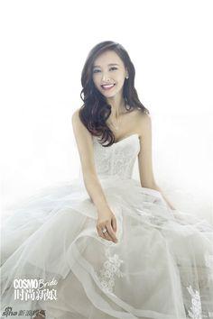 Tang Yan is a bride for Cosmopolitan | Cfensi