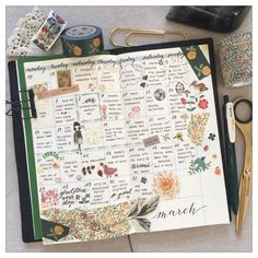 Oh yes, and journaling in the monthly was pure joy! Why have I never tried it before?