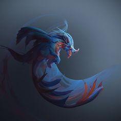ArtStation - Dragon Sketch 02, Tyler Smith