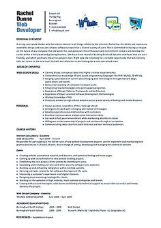 web developer resume is needed when someone want to apply a job as a web developer resume examples