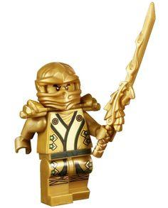 gold ninjago - wyley wants 2 swords Diy Ninja Costume, Kids Ninja Warrior, Ninja Outfit, Lego Minifigs, Lego Movie 2, Legos, Diy For Kids, Cold Frames, Number Cakes