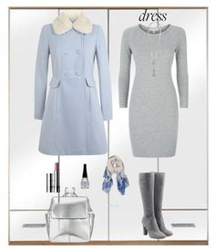"""Warm up"" by moon-blue ❤ liked on Polyvore featuring James Perse, Miss Selfridge, L'Autre Chose, Kin by John Lewis, Clinique, Humble Chic, Monsoon and longsleevedress"