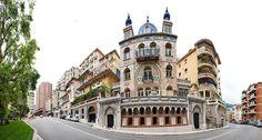 The Persian-style Danichgah (Daneshgah) Villa, Monaco.