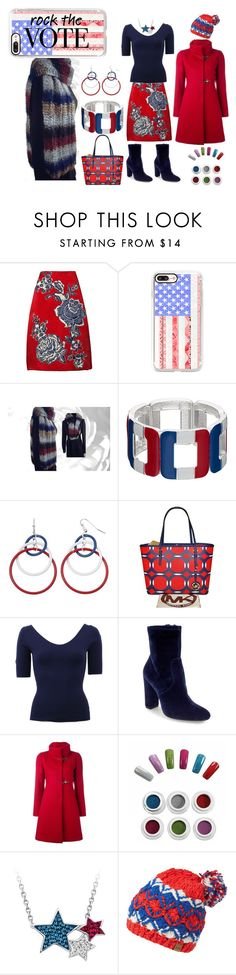 """Rock The Vote"" by nadiasknits ❤ liked on Polyvore featuring Bill Blass, Casetify, Michael Kors, Steve Madden, FAY and Helly Hansen"