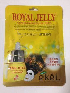 EKEL Natural Beauty Royal Jelly Ultra-Hydrating Facial Mask Sheet Pack 1PCS #EKEL