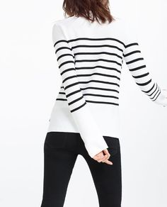 Image 5 of STRIPED SWEATER from Zara