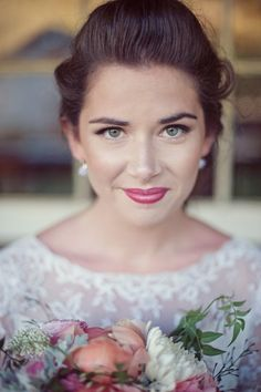 vintage wedding makeup - Google Search