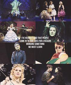 Elphaba, G(a)linda, Fiyero.... Wicked the musical