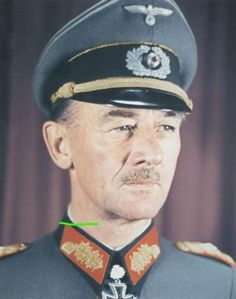 General der Panzertruppe Hans Emil Richard Freiherr von Funck (23 December 1891 - 14 February 1979)
