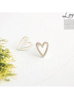 Heart Gold Earrings