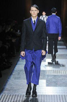 Bleu de travail op de catwalk.