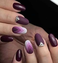 35 Trendy Purple Nail Art Designs for Do you like purple nail design? If you decide to use purple, you're in the right place. We all heard Cute Nail Colors, Cute Nail Art, Beautiful Nail Art, Gorgeous Nails, Beautiful Images, Purple Nail Art, Purple Manicure, Manicure Colors, Color Nails