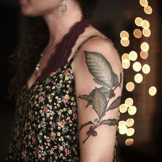 And this coffee plant illustration too! I love tattooing coffee thanks so much Jecinda! Tattoo shared by alicerules