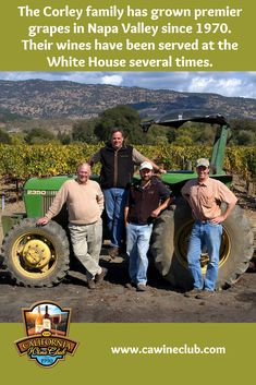 The Corley family philosophy is one of 'sunshine to wine' in which their family directs all aspects of winegrowing and winemaking from the initial selection . California Wine Club, Napa Valley Cabernet Sauvignon, Wine Bottle Labels, Wine Fridge, Wine Gifts, Wine Country, Wines, Red Wine, Philosophy