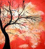 Ben Walker Tree Paintings by artist Benjamin Walker