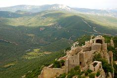 Chateau de Peyrepertuse, Languedoc France