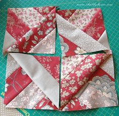Shabby Home: Ma che bel tutorial!!! What a nice tutorial!!! . materiales patchwork