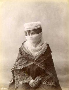 Veiled Turkish Woman, 1875