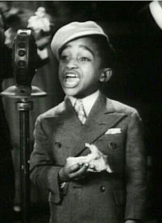 Sammy Davis Jr. As a child.