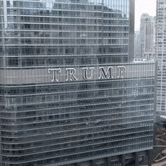 Fixed the Trump Tower sign