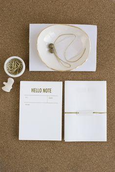 hello note by tokketok.