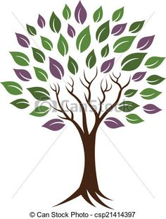 Vector - Life tree image. Concept of happiness, young and healthy.Vector icon - stock illustration, royalty free illustrations, stock clip art icon, stock clipart icons, logo, line art, EPS picture, pictures, graphic, graphics, drawing, drawings, vector image, artwork, EPS vector art