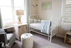 Project Nursery - Coastal Themed Nursery