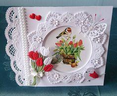 Easel Cards, 3d Cards, Making Greeting Cards, Greeting Cards Handmade, Marianne Design Cards, Spellbinders Cards, Step Cards, Flower Cards, Vintage Cards