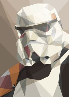 Star Wars Polygon Poster