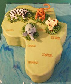 africa cake | Africa Cake — 2010 Animal Cakes Contest