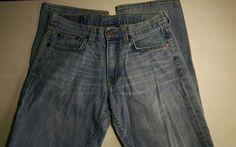 Lucky Brand Vintage Straight 100% Cotton USA   Sz 29 #LuckyBrand #ClassicStraightLeg