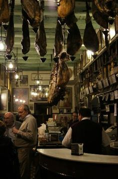 Cafe bar Las Teresas, Seville, Spain. Tapas is our favourite eating out experience and this bar was wonderful.