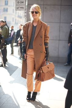 Milan Cut-Out Camel | Street Fashion | Street Peeper | Global Street Fashion and Street Style