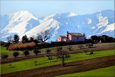 Monti Sibillini da Macerata by Luigi Alesi