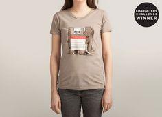 """Prehistoric"" by alexmdc on women's t-shirts | Threadless"