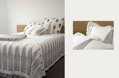 Block print bedding | Les Indiennes http://www.lesindiennes.com/