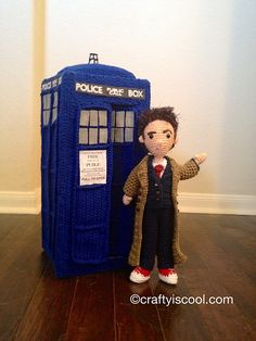 Ravelry: Tenth Doctor Who Amigurumi Pattern pattern by Allison Hoffman - Allison has created crocheted characters for all the Drs.