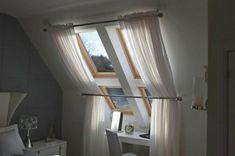 dachfenster gardinen sonnenschutz elegant